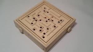 Wooden Maze Game With Ball Bearing Labyrinth From a Single 100x100 1000 Steps with Pictures 77