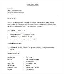 Best Resume Doc Format Resume Template Easy Http Www