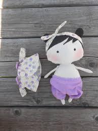 tilda doll soft doll natural soft doll organic doll by felthink