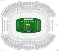 Logical Cowboy Stadium Parking Chart Qwest Field Seating