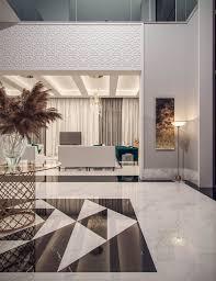 Modern Middle Eastern Interior Design Family Villa Contemporary Arabic Interior Design Riyadh