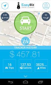 Best Mileage Log App Easybiz Mileage Tracker Expense Log Mobile App The Best Mobile