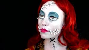 picture of sally the ragdoll nightmare before makeup tutorial