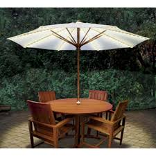 brella lights patio umbrella lighting system with power pod give your outdoor seating a