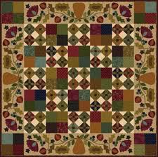 """Free Autumn Quilt Patterns – BOMquilts.com & """"Hearthside Seasons-Autumn"""" Free Quilt Pattern designed by Kim Diehl from  Bear Creek Quilting Company · """" Adamdwight.com"""