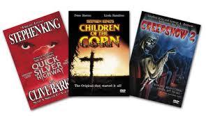 stephen king 3 pack quicksilver highway children of the corn creepshow 2