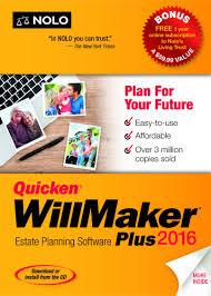 quicken willmaker plus  quickenreg willmaker plus 2016