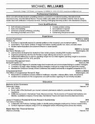 Best Of Awesome Operations Analyst Resume Sample Beautiful Business