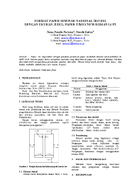 Format Paper Doc Format Paper Nasional Fvchrat Rachman Alvarizi