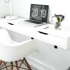 Image Cute Shelf With Brackets From Best Wall Mounted Desks And Tables Annual Guide Cool Home Office Used Cool Home Office Desks Ikea Lift Cool Home Office Desks Computer For Sale Best Modern The