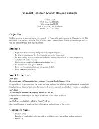 Research Analyst Resume Sample Nice Equity Research Analyst Resume ...