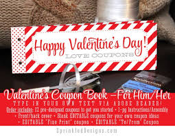 Creative Coupons For Boyfriend Valentines Day Gift For Him For Her Wife Husband Boyfriend