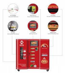 Pizza Vending Machine Cost Beauteous Pizza Vending Machine Cost Shanghai Jinhe Industrial Development