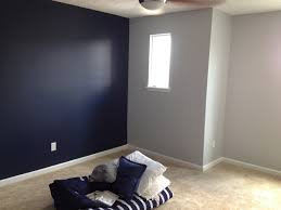Navy Paint Colors Sherwin Williams Naval With Gray Screen On Opposing Wall New