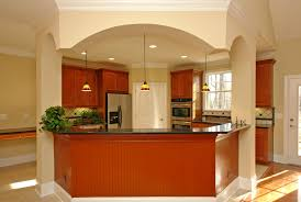 shaped kitchen island traditional cabinets