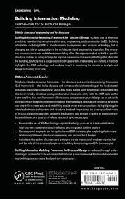 Building Information Modeling Framework For Structural Design Building Information Modeling Framework For Structural