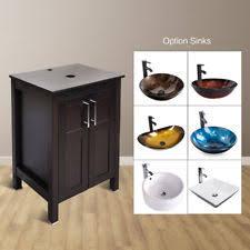 24 vessel sink vanity. Contemporary Vanity 24u0027u0027 Bathroom Vanity Single Cabinet Counter Top Vessel Sink Bowl Faucet  Combo With 24