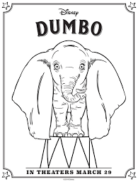 Disney princess coloring page coloring pages elsa princessloring pages of disney printablebatman. Dumbo Coloring Pages Free Printables April Golightly