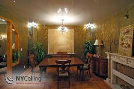in addition to ambient lighting four decorative spotlights were placed in the corners of ceilings surface ceiling ambient lighting