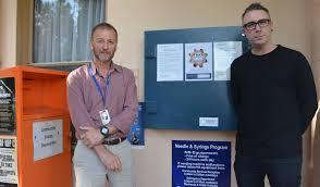 Needle Syringe Vending Machines Sydney Unique Injecting Drug Users Urged To Use Program Gippsland Times
