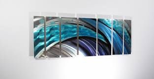 best 15 of abstract wall art with clock design ideas of contemporary metal wall art uk