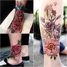 татуировки для девушек на ноге тату на ноге лучшие варианты