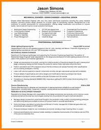 Resume Examples Mechanical Engineer Examples Of Resumes