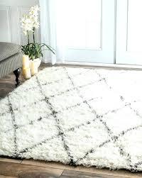 fluffy area rug white fluffy area rugs
