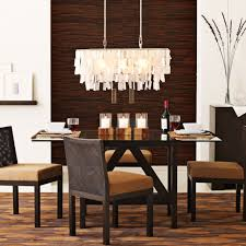 Modern Crystal Chandeliers For Dining Room Furniture Rectangular Crystal Chandelier With Shade For Modern