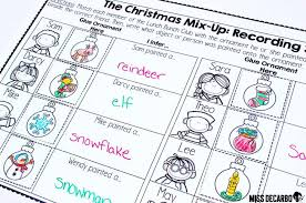 Free Christmas Activities, Ideas, and Games for Literacy - Miss ...