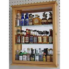 wall mounted curio cabinet shadow box