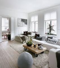 Weihnachtsdeko Ideen Skandinavisch Wohnzimmer Fensterdeko