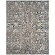 safavieh artisan dark gray blue 8 ft x 10 ft area rug