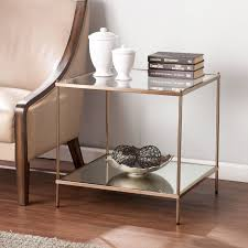 clear nightstand