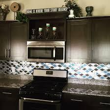 Kitchen Design Tiles Walls My New Kitchen Glazzio Tiles Falling Star Series Cerulean Glass