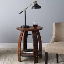 used wine barrel furniture. Wine Barrel End Table Used Furniture
