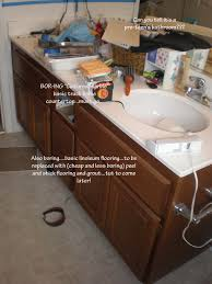 Painting Cultured Marble Sink Wild Whitneys Faux Granite Countertop For Less Than 25 Bucks