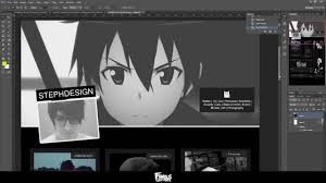 Tumblr Anime Themes Ariel Dark Tumblr Theme Web Design Speedart Youtube