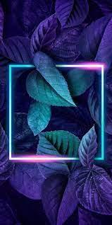 3D Leaves, 2020, background, blue ...
