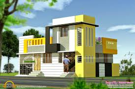 1500 square fit latest home front 3d designs also kerala design