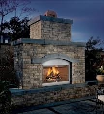s36 fmi tuscan outdoor wood burning fireplace refractory brick liner s36