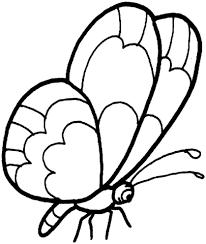 Disegno Di Una Farfalla Stilizzata Da Colorare Disegni Da Colorare