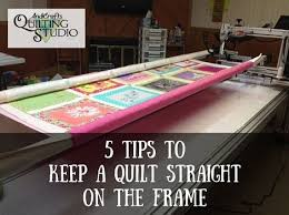 85 best Loading a Longarm images on Pinterest   Christmas tree ... & Andi shares tips to be sure you are properly loading your quilting machine,  in order to keep a quilt straight on the frame during the quilting process. Adamdwight.com