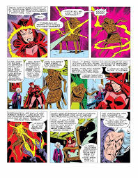 Mephisto has a long comic book history, especially with the scarlet witch and vision. Wandavision Prep Who Are The Children Of The Scarlet Witch And The Vision
