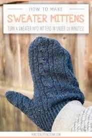 Sweater Mitten Pattern New Decorating Ideas