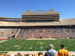 Tennessee Football Neyland Stadium Seating Chart