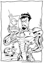 Disegni Da Colorare Di Iron Man Disegno