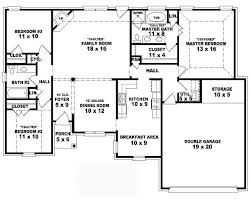 2 Story 4 Bedroom 3 Bath House Plans  Vdomisadinfo  VdomisadinfoSmall 4 Bedroom House Plans