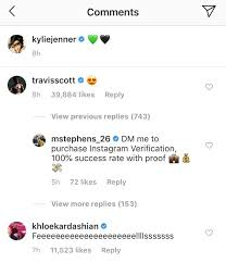 Travis Scott Comments on Kylie Jenner's Sexy Instagram Pic