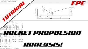 How To Design A Nozzle How To Design A Sugar Rocket Nozzle In Rocket Propulsion Analysis Rpa